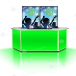 Portabar-2mR_LED-Green+Disco