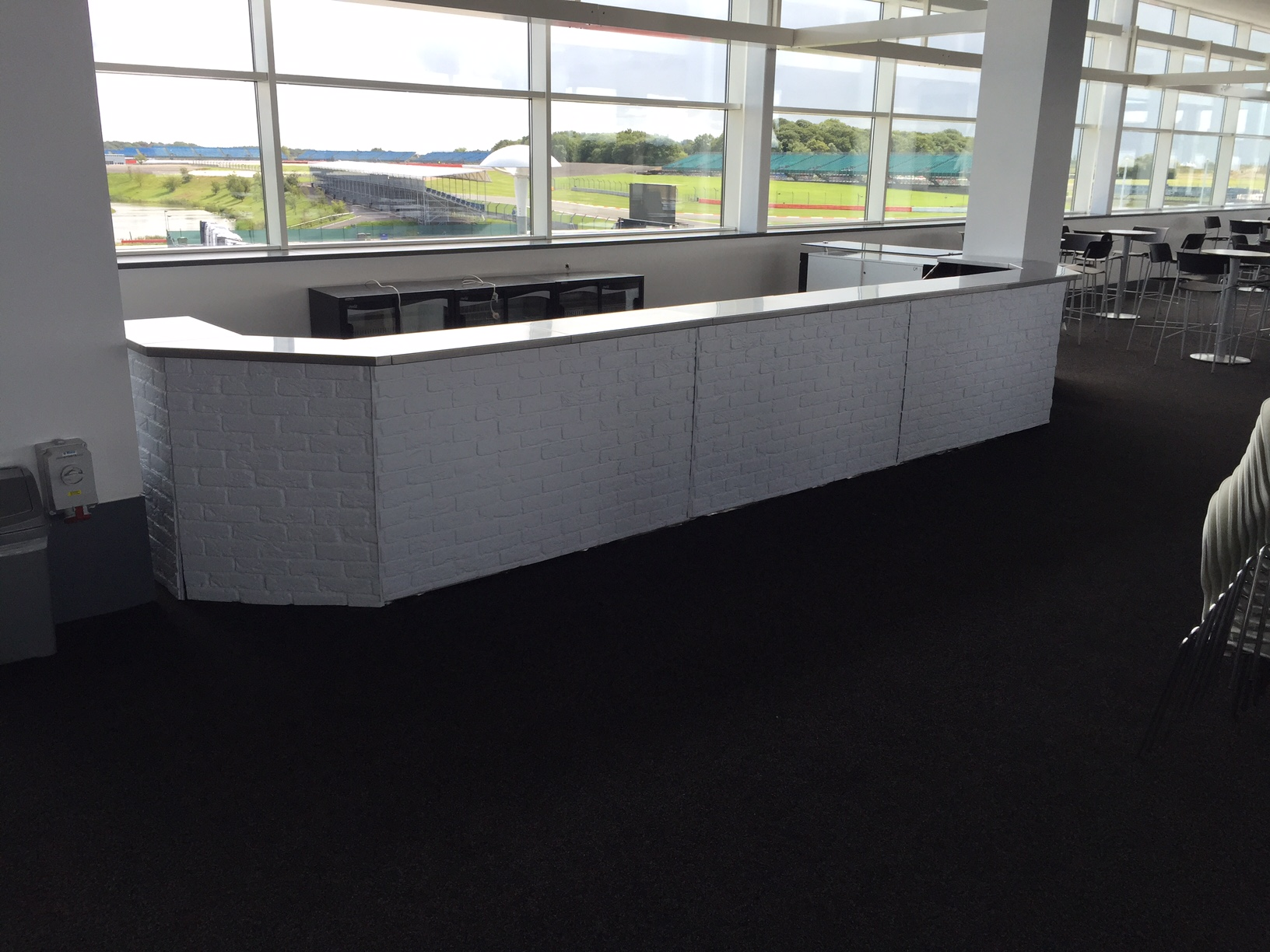 Dry Bar Hire & Mobile Bar Hire for Moto GP 16 - Ace Bar Events