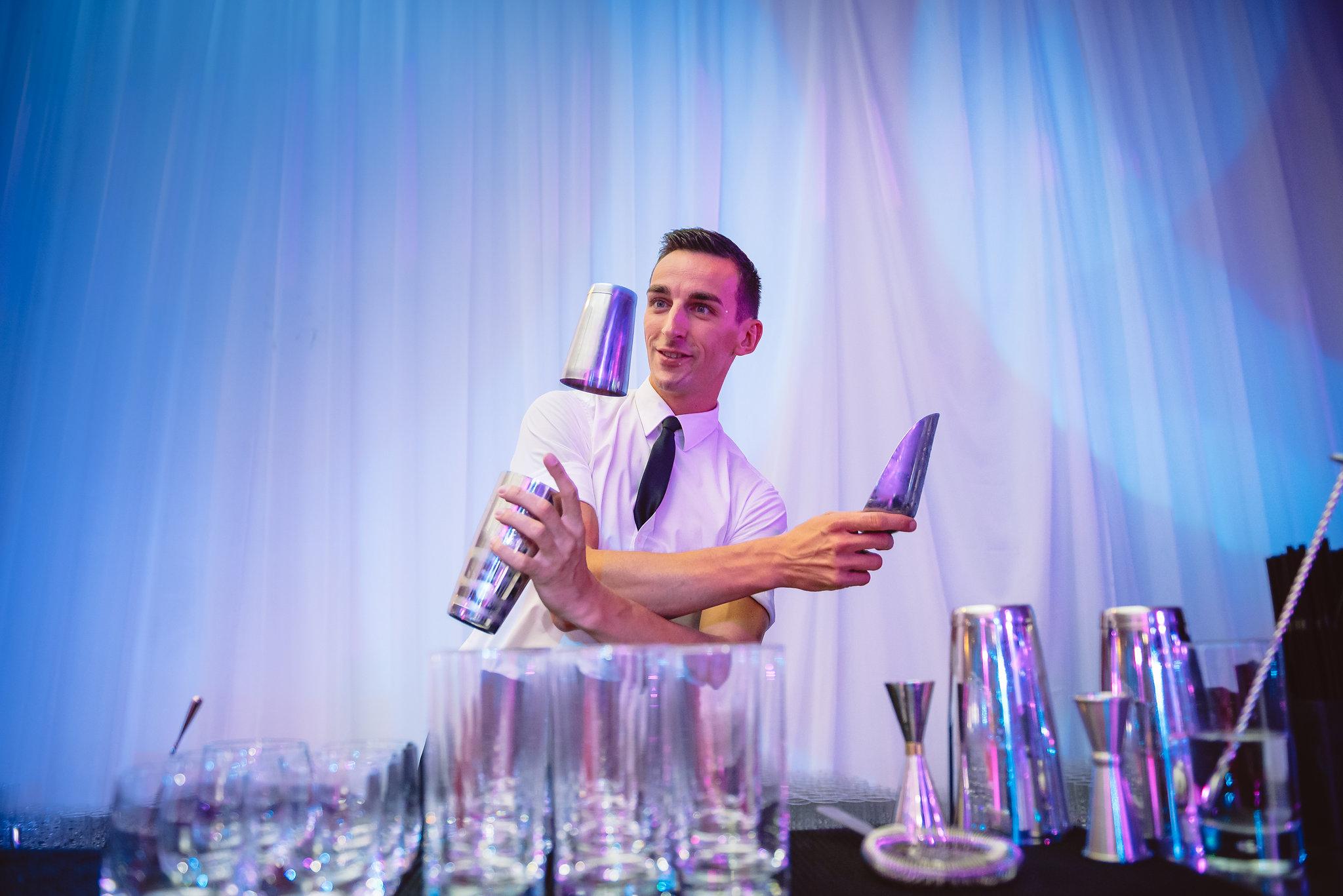 flair bartender hire