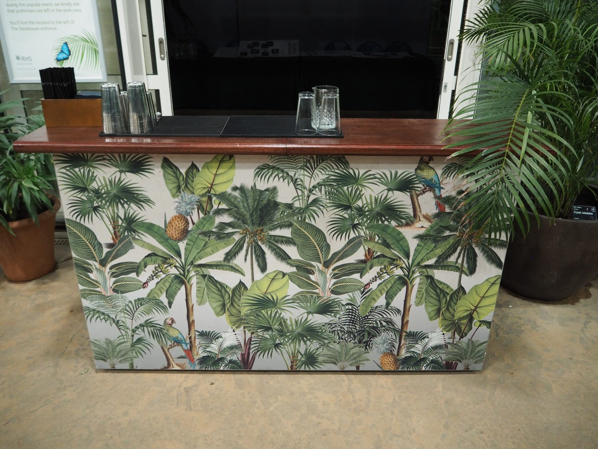 botanical mobile bar