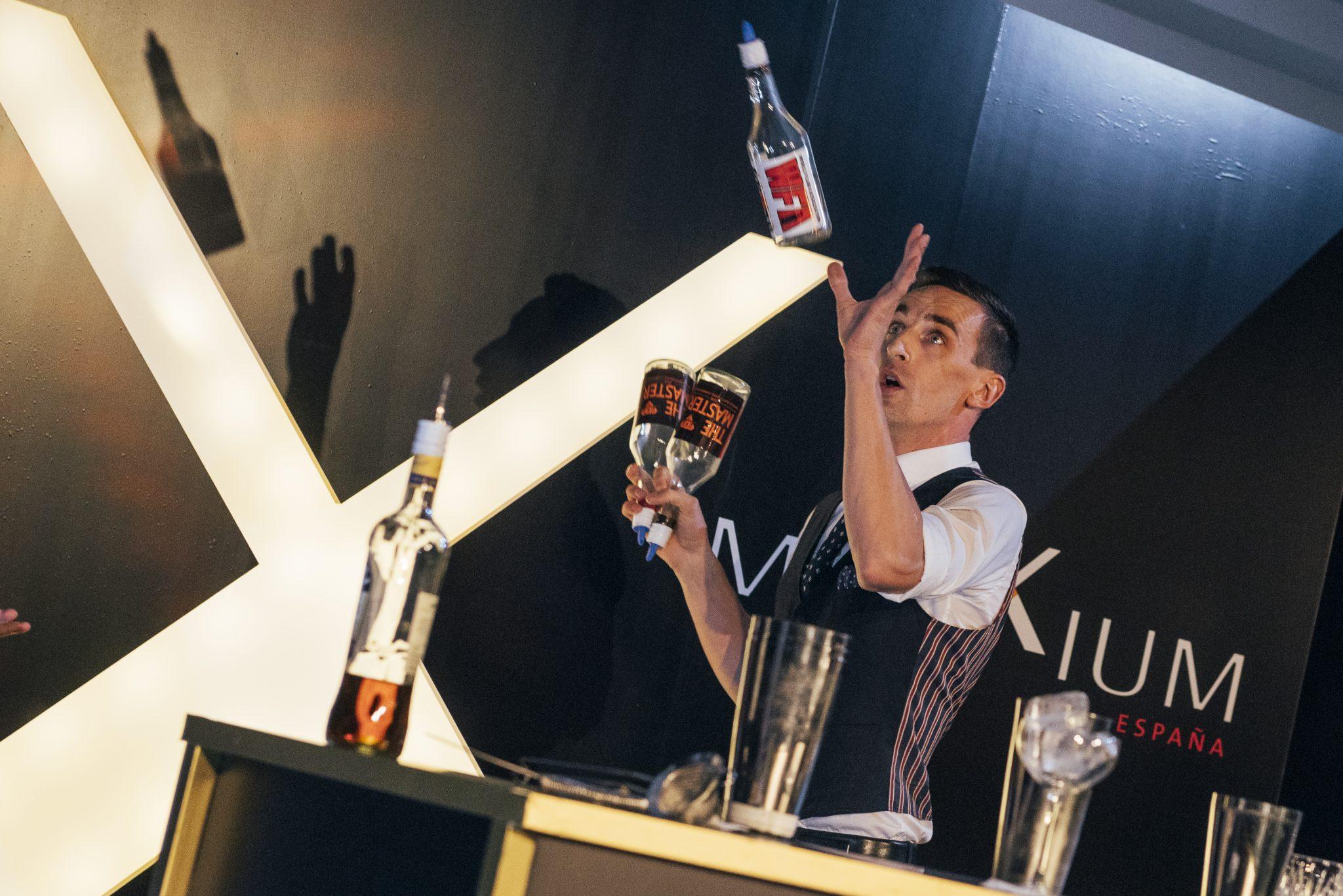 juggling bartender for hire