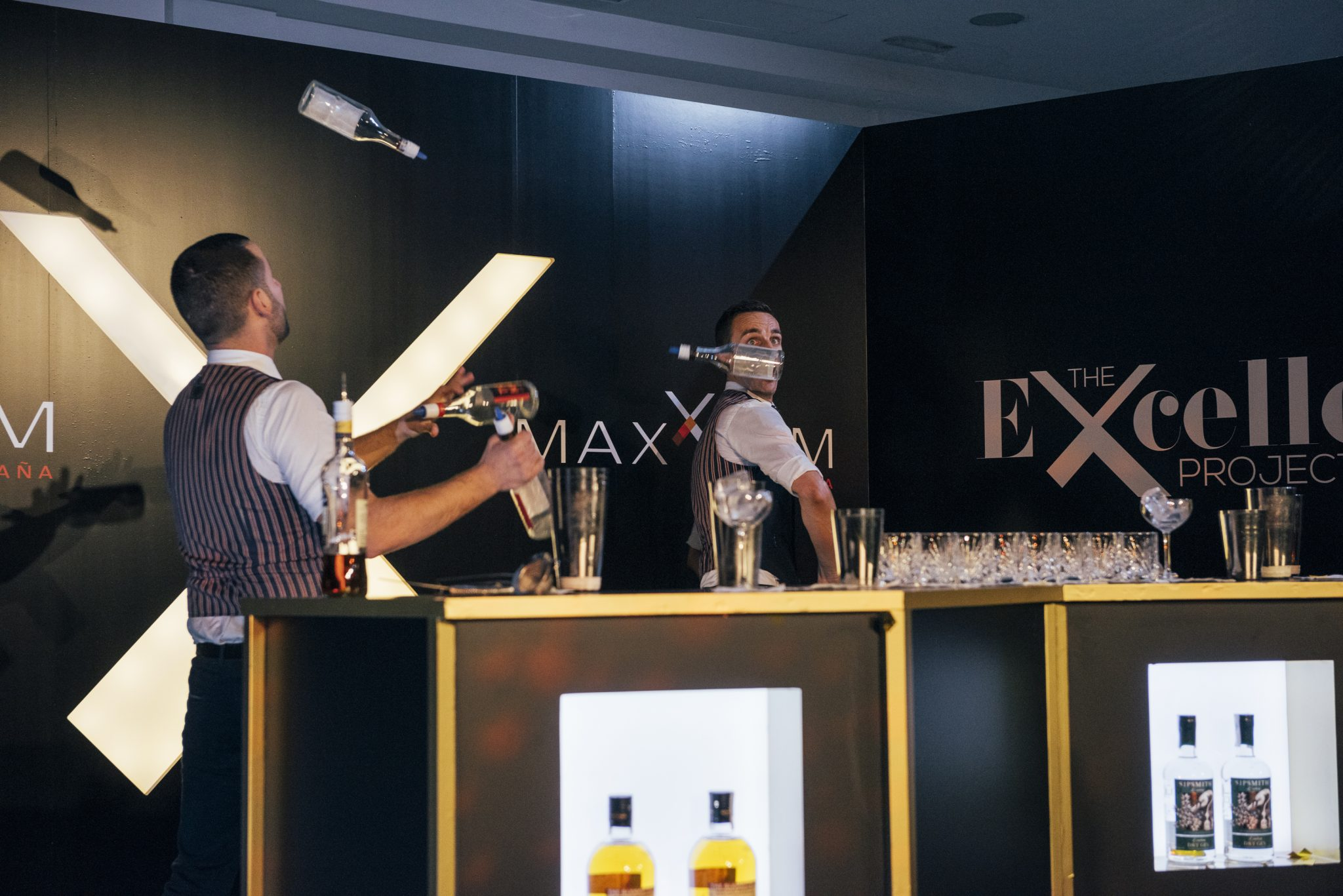 flair bartenders Marbella