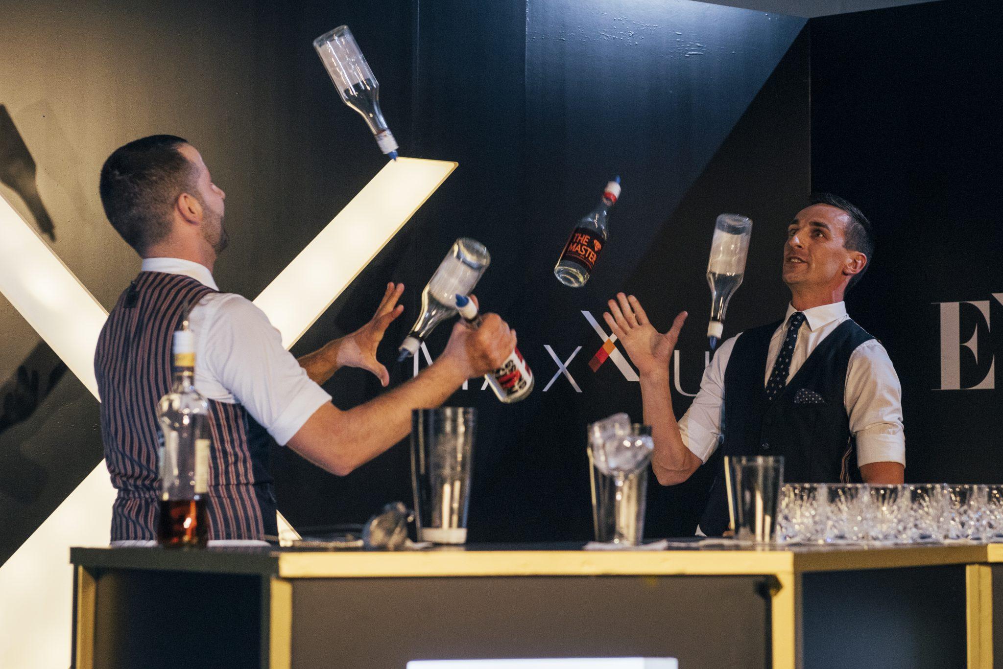 flair bartender show