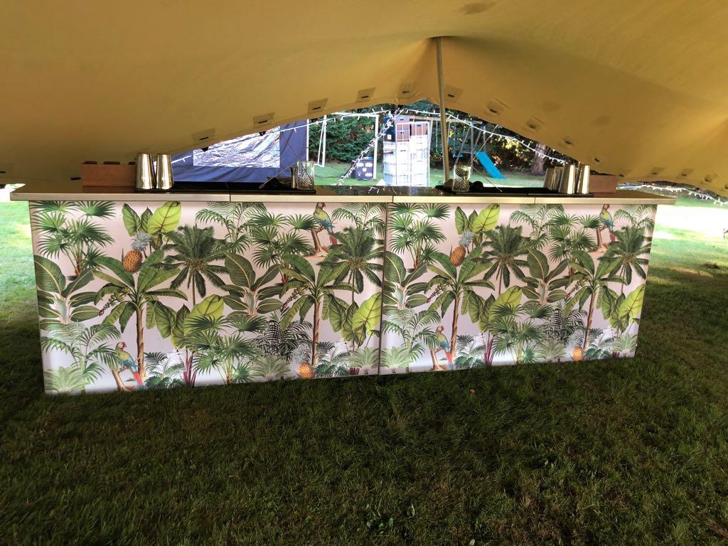 Rainforest mobile bar