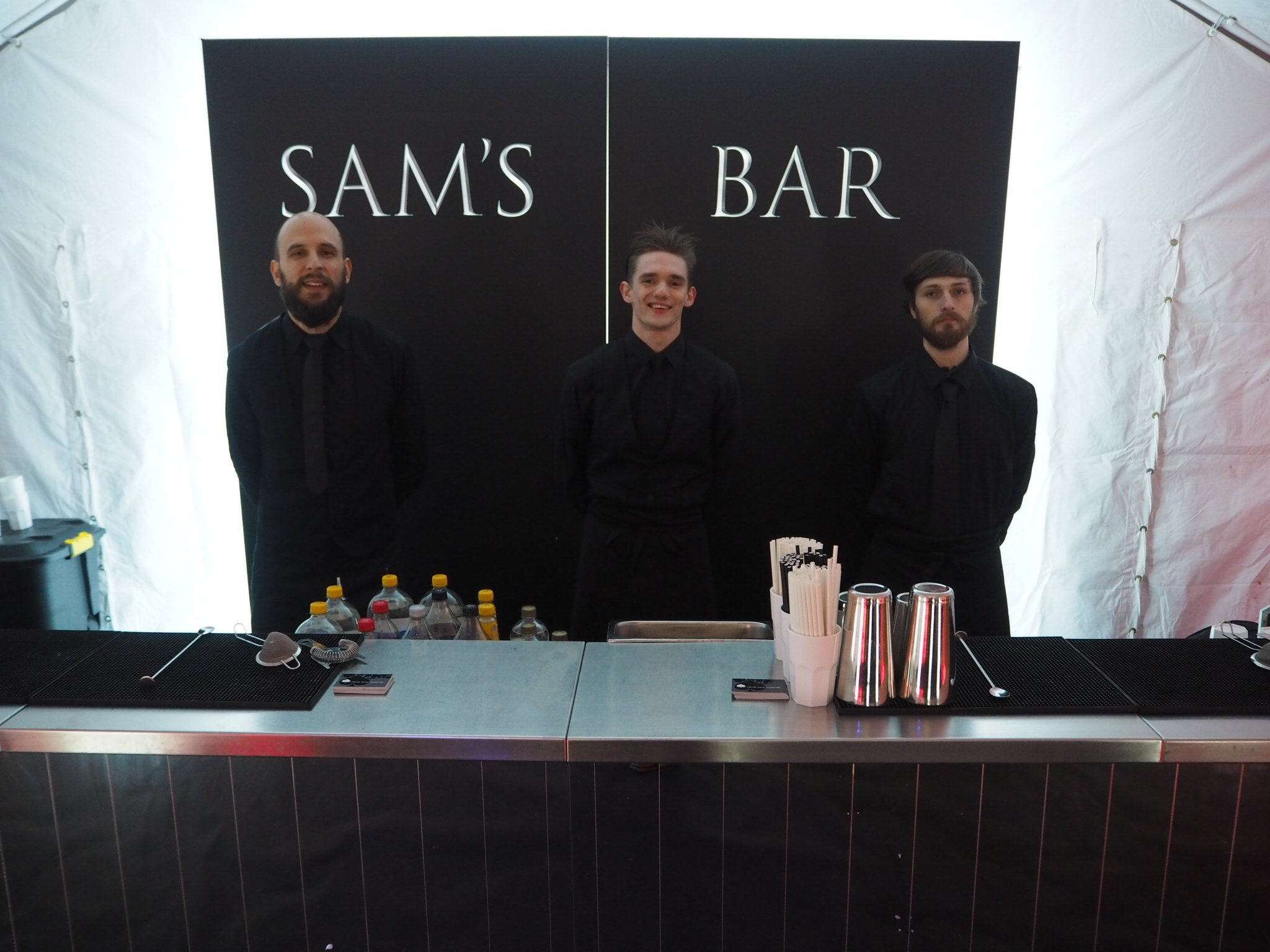 personalised mobile bar hire