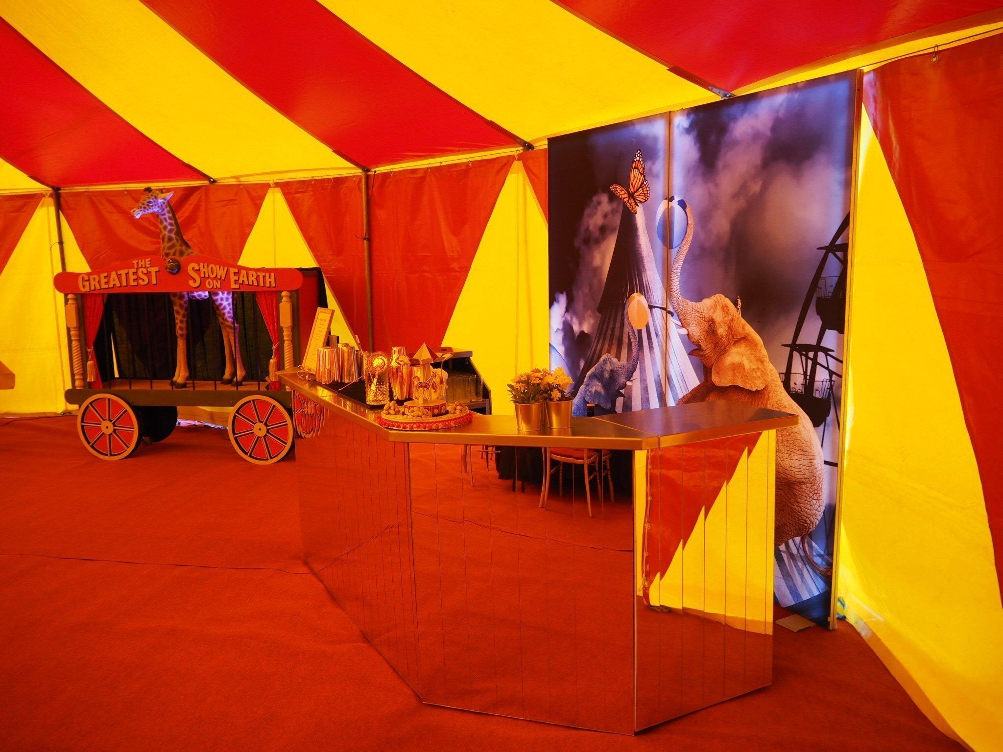circus mobile bar
