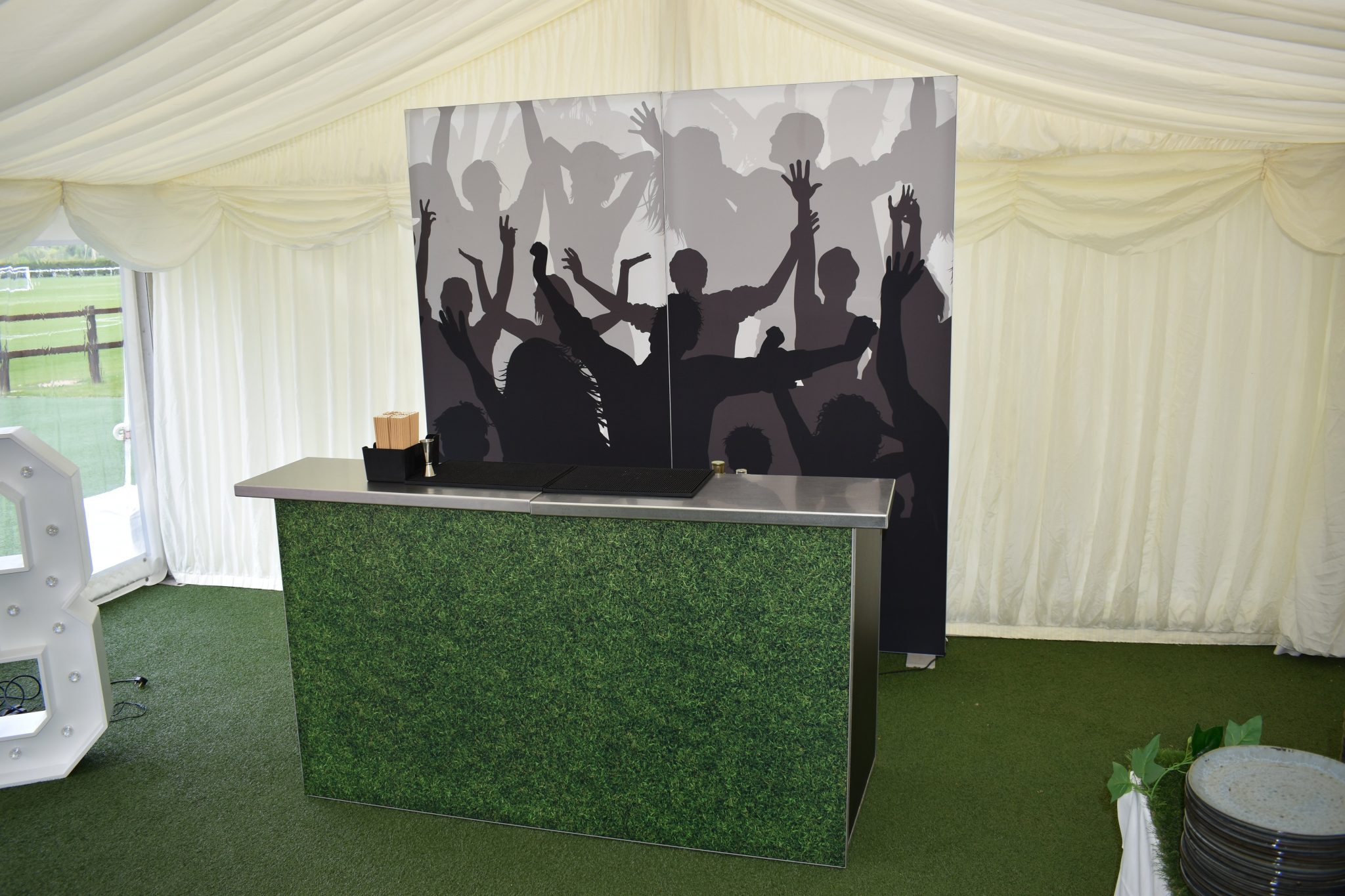 football mobile bar hire