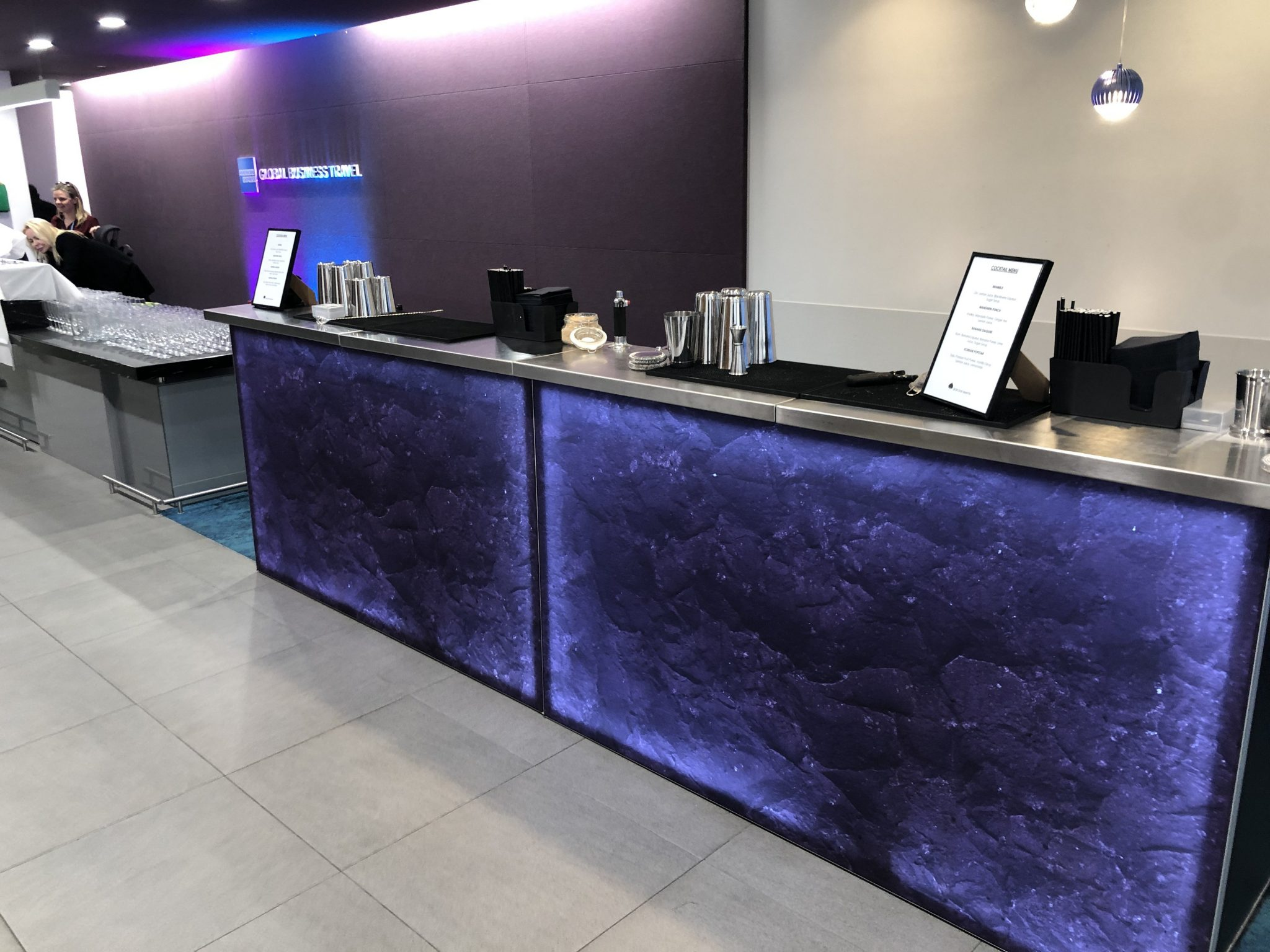 interactive cocktail bar