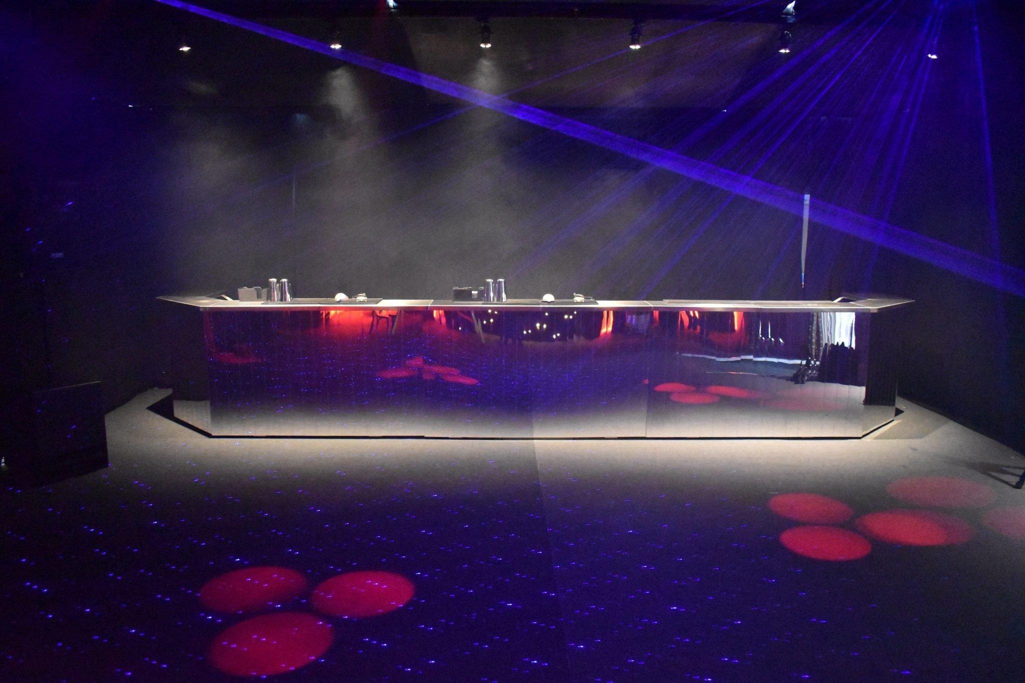 club style mobile bar