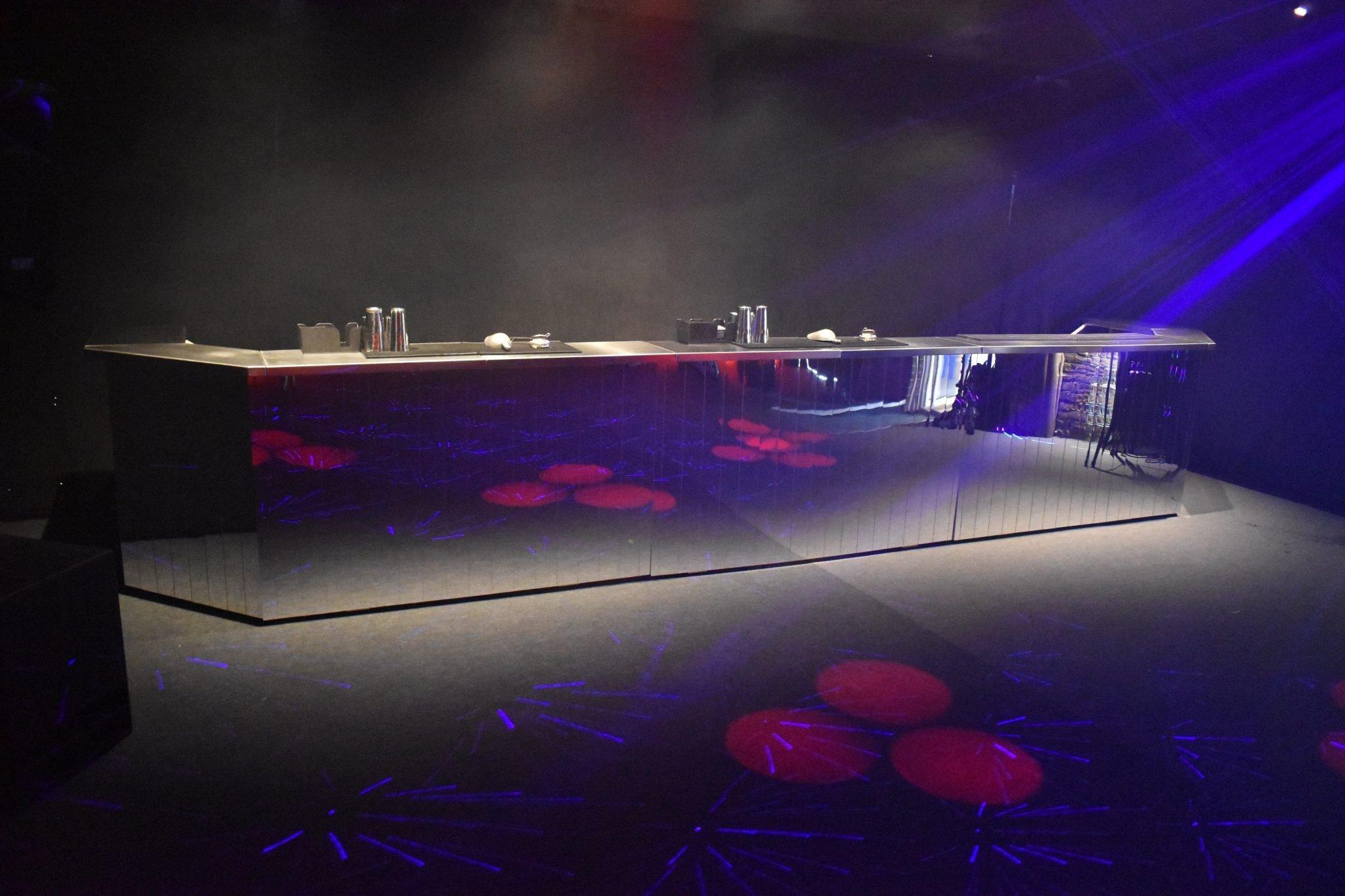 disco feel mobile bar