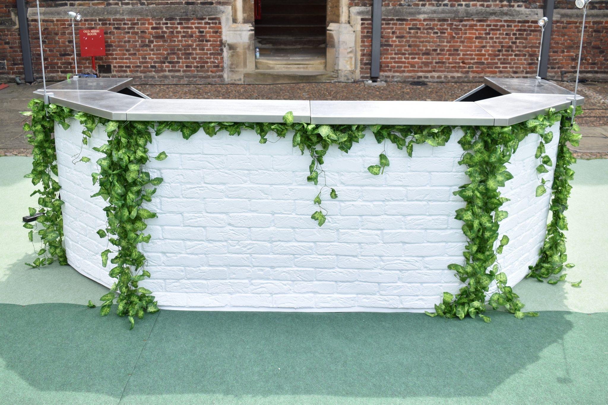 garden themed bar
