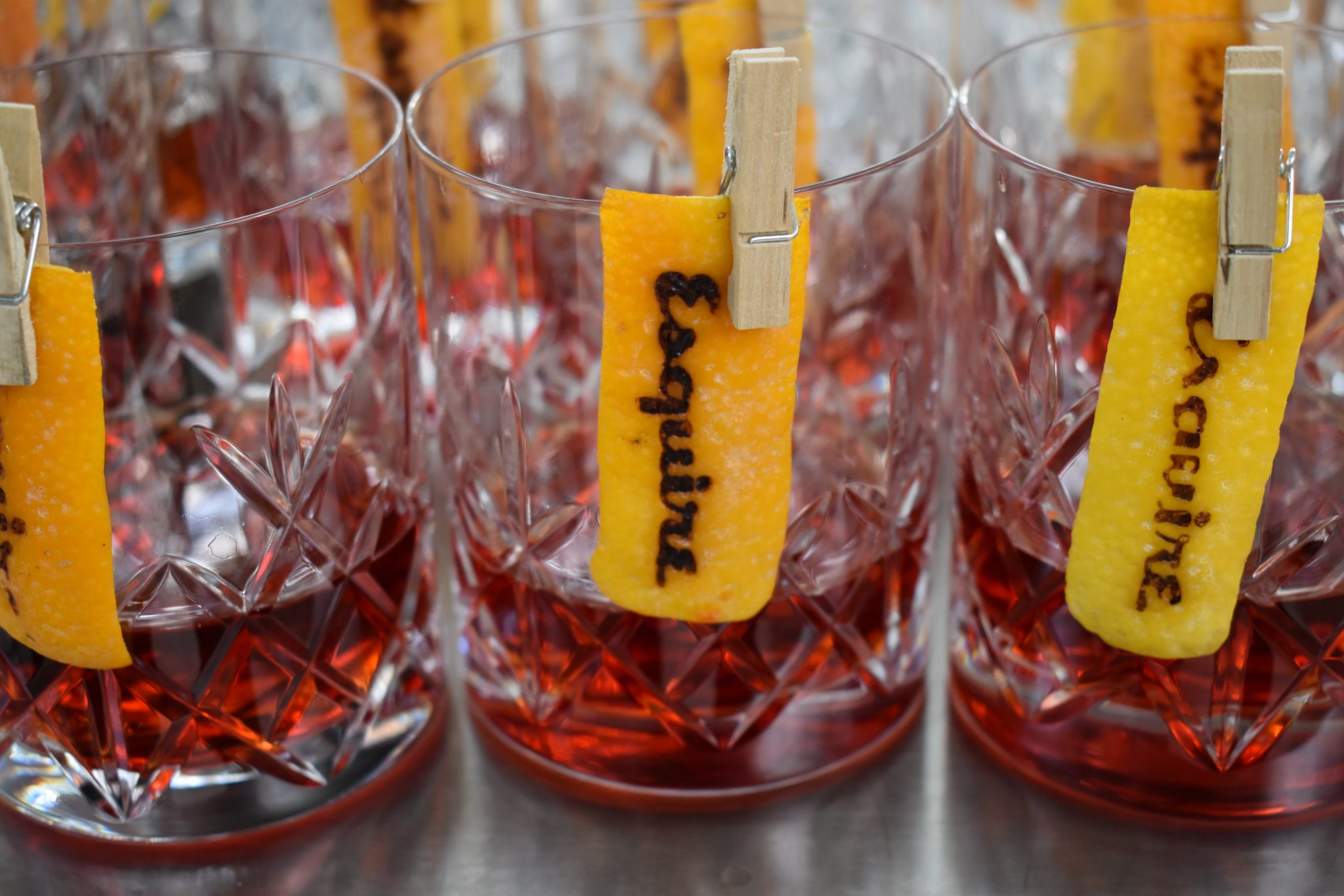 branded cocktails for events