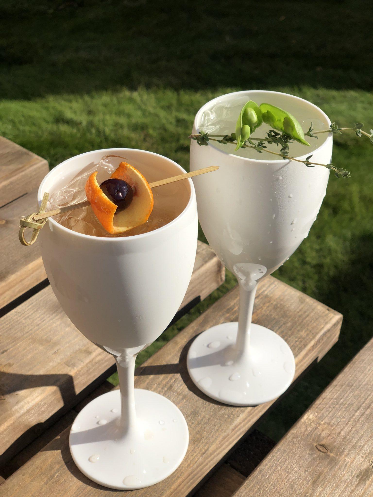 non-alcoholic drinks reception