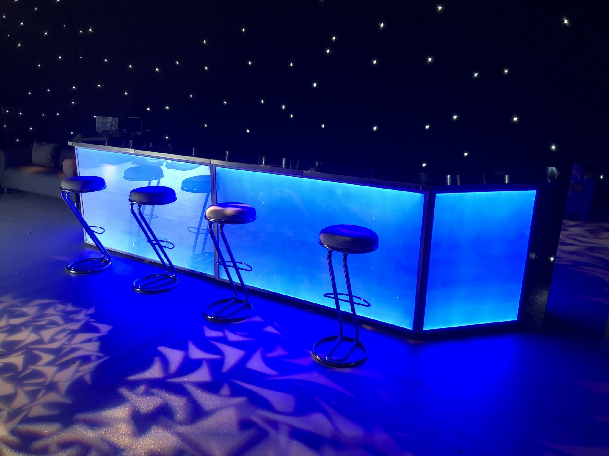 LED mobile bar hire