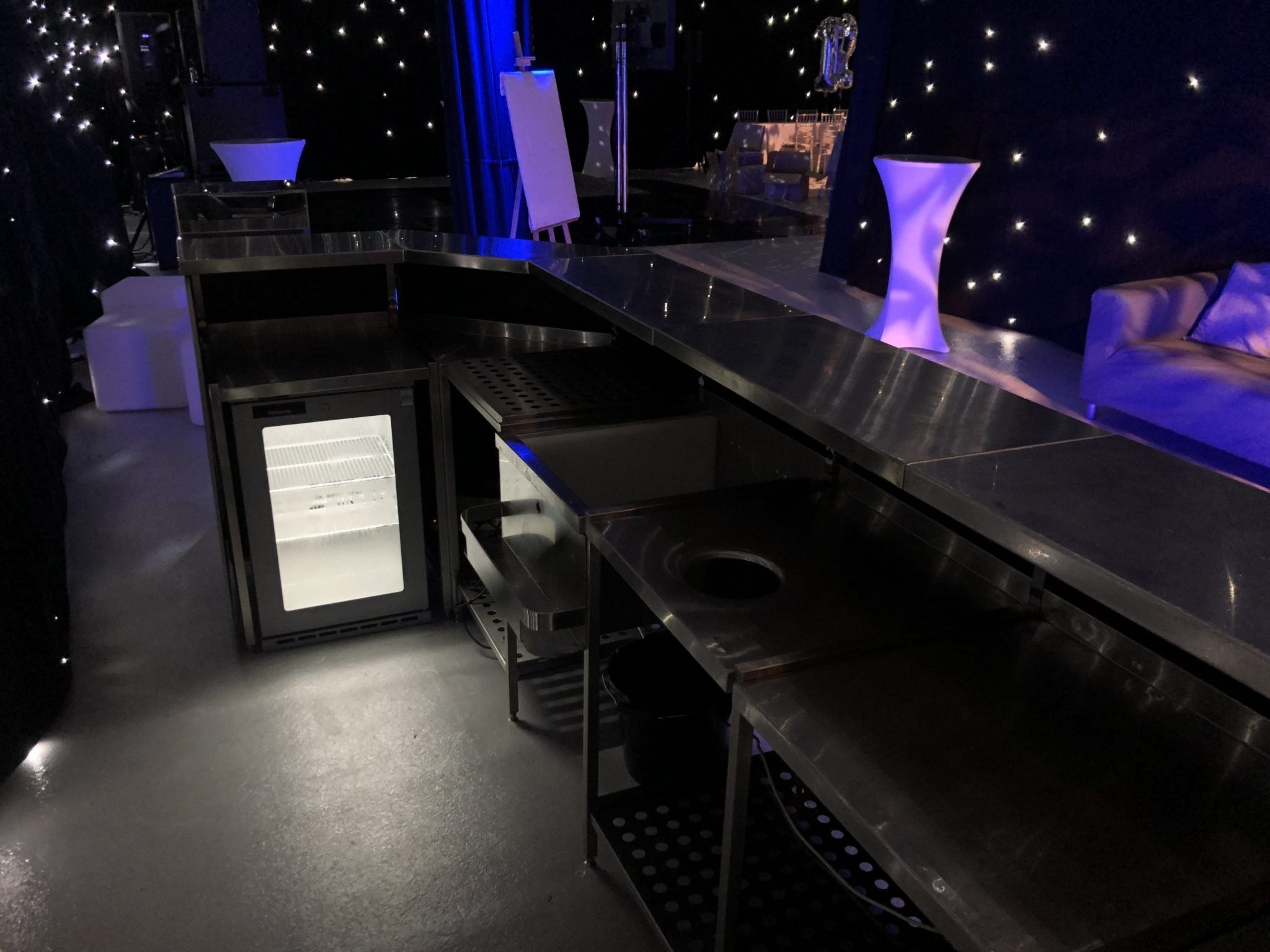 bar fridge hire for events