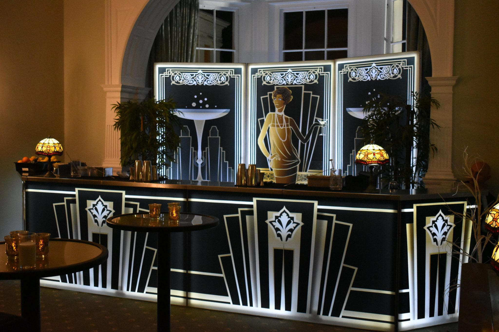 Twenties mobile bar hire